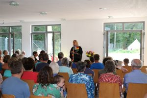 Gottesdienst im Waldheim Lindental